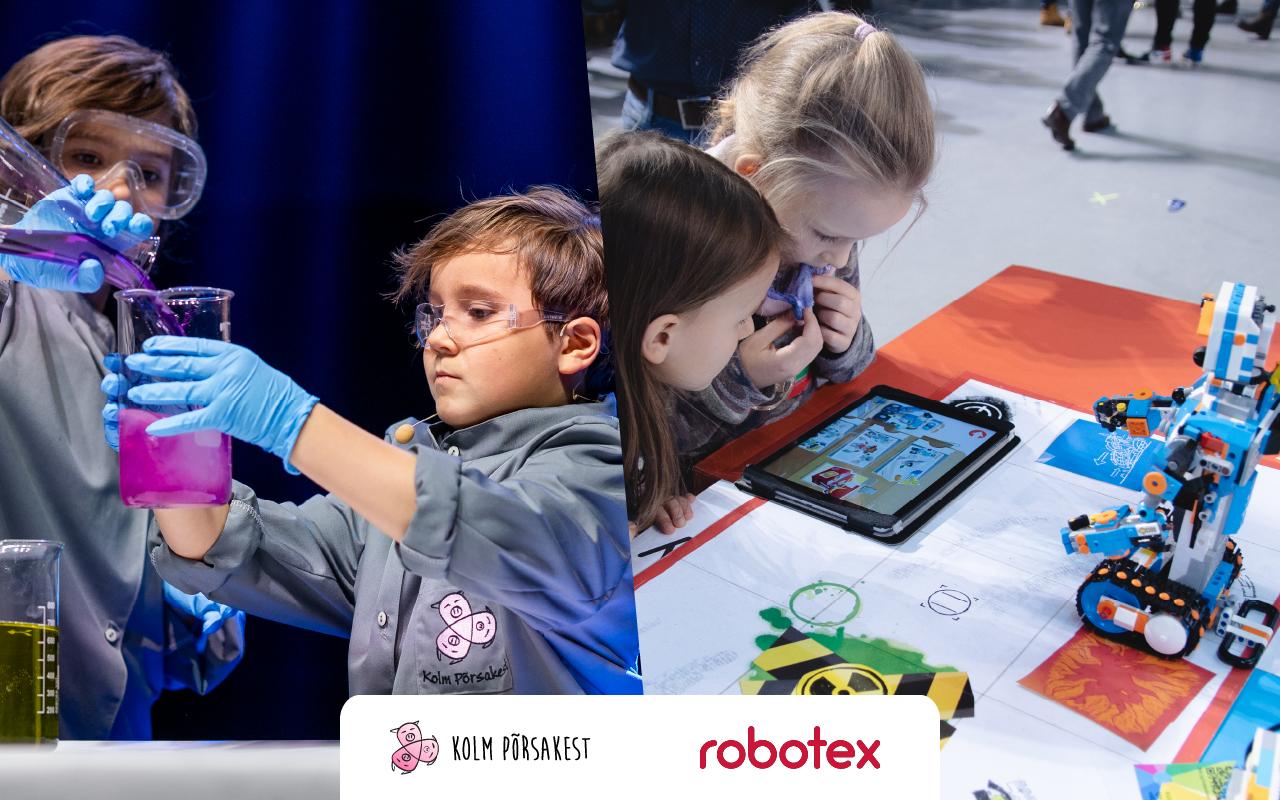 Robotex ja Kolm Põrsakest toovad kodudesse põnevad tegevuskastid