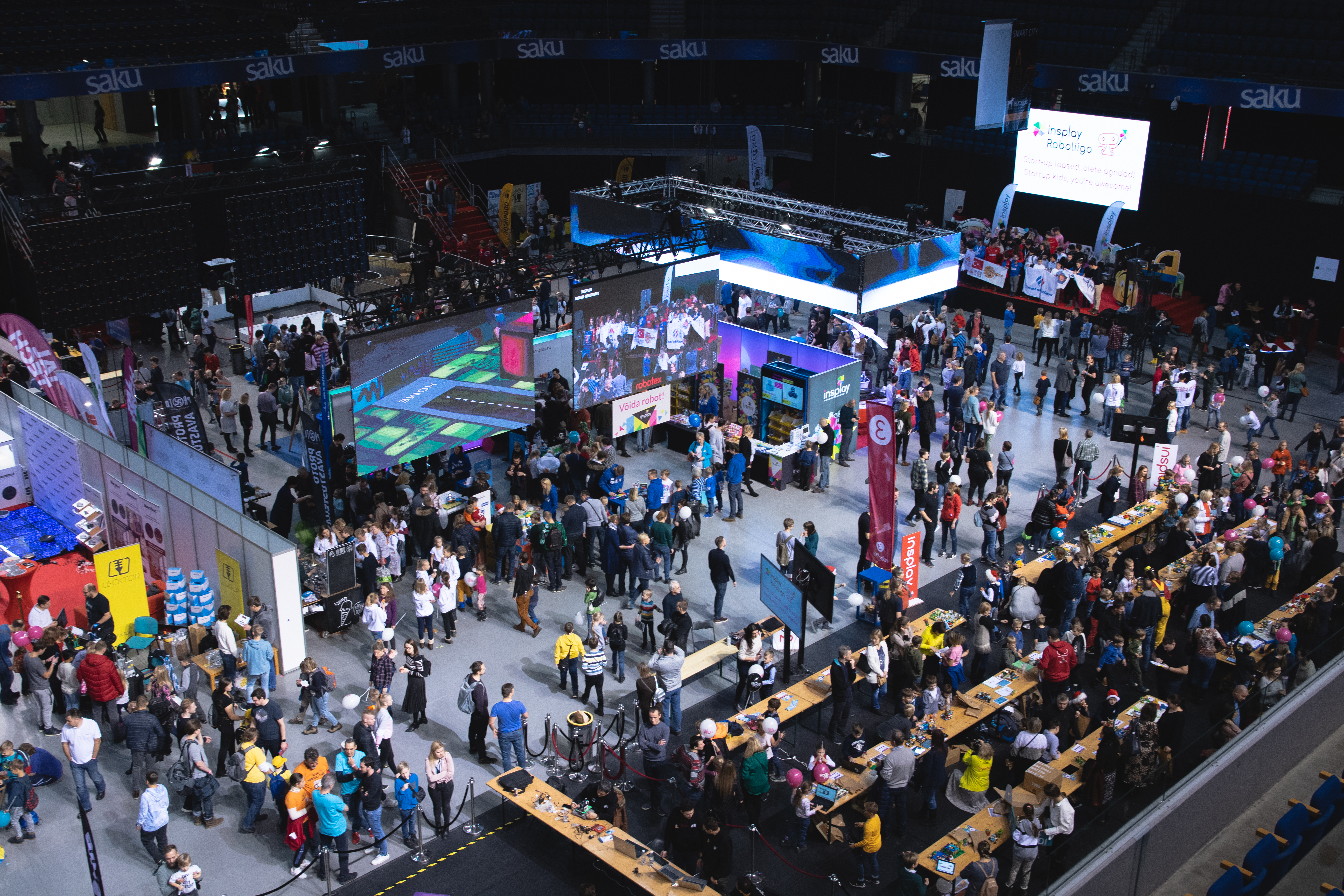 Registration for Robotex International competitions has started